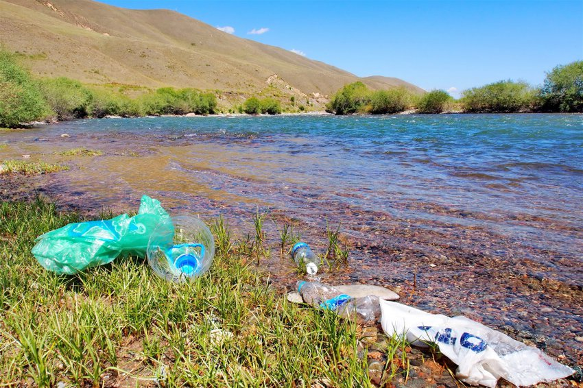 #trashtag Река Суусамыр