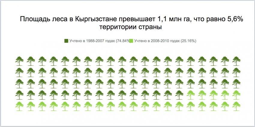 Экоцид. Через 150 лет Кыргызстан может полностью лишиться лесов.