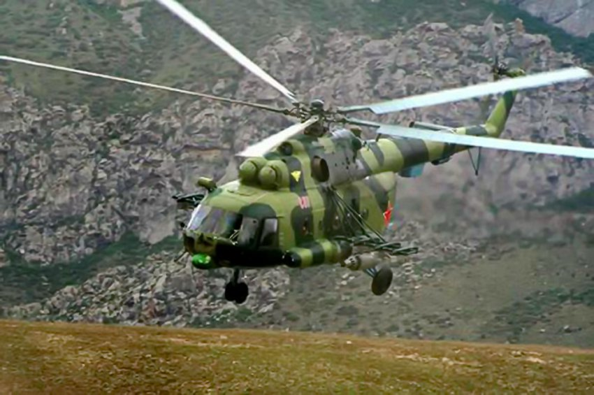 Иностранец нанял вертолет генштаба Кыргызстана  за 2800 долларов, для кражи ценных деревьев из ущелья в Сокулуке.