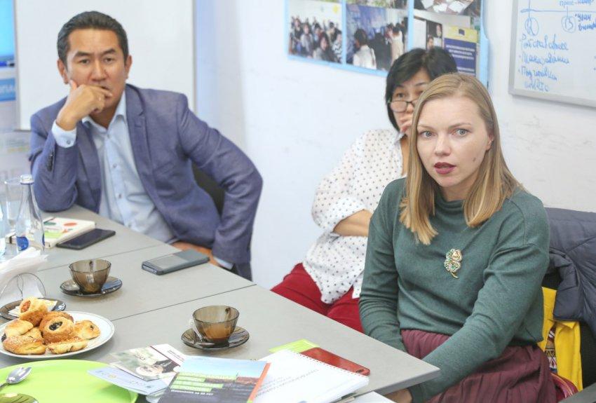 Встреча активистов-экологов