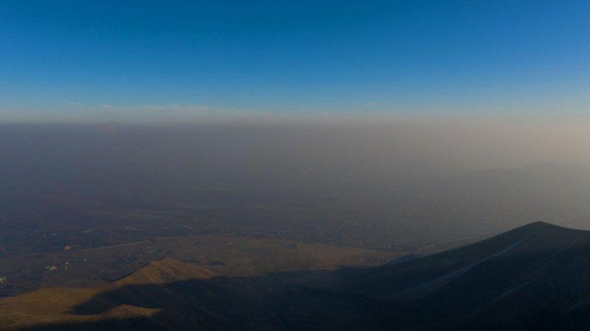 23,2 кг на человека, в Бишкеке наблюдается самый большой выброс вредных веществ в атмосферу
