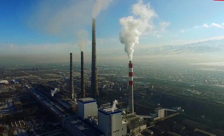 Мы гибнем от удушья. В зимние месяцы в Бишкеке загрязнение атмосферы превышает норму во много раз