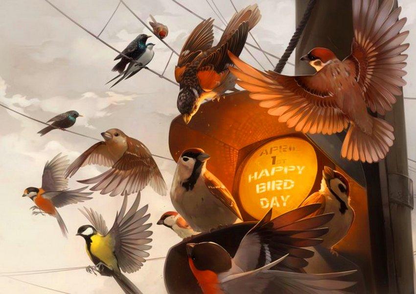 1 апреля- Международный день птиц. International Bird Day. Кыргызстан