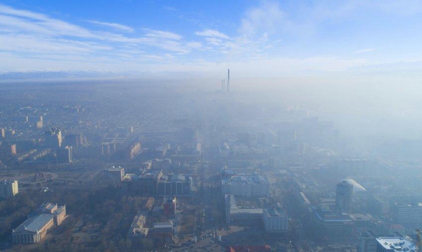 По данным Минздрава, вследствие загрязнения окружающей среды в Кыргызстане ежегодно умирает около 4,5 тысяч человек.