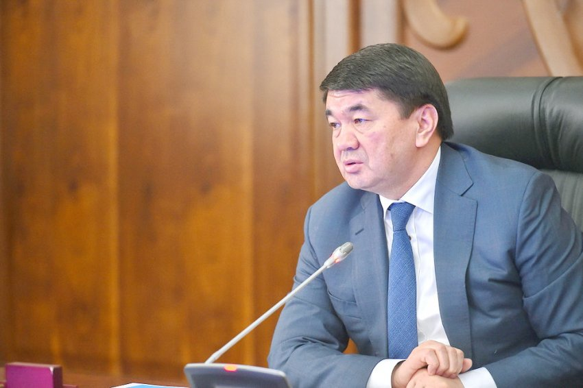 Премьер-министр Мухаммедкалый Абылгазиев: Ситуация с экологией в Бишкеке вызывает озабоченность у всех