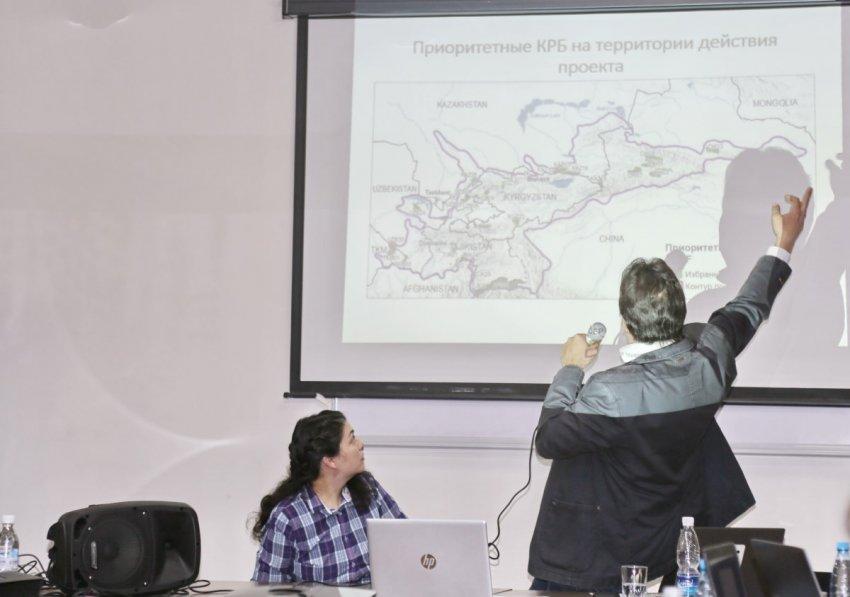 Очаг биоразнообразия в Центральноазиатском горном регионе