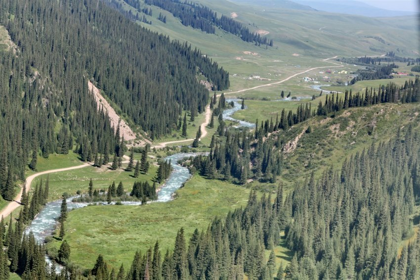Климат горного Кыргызстана