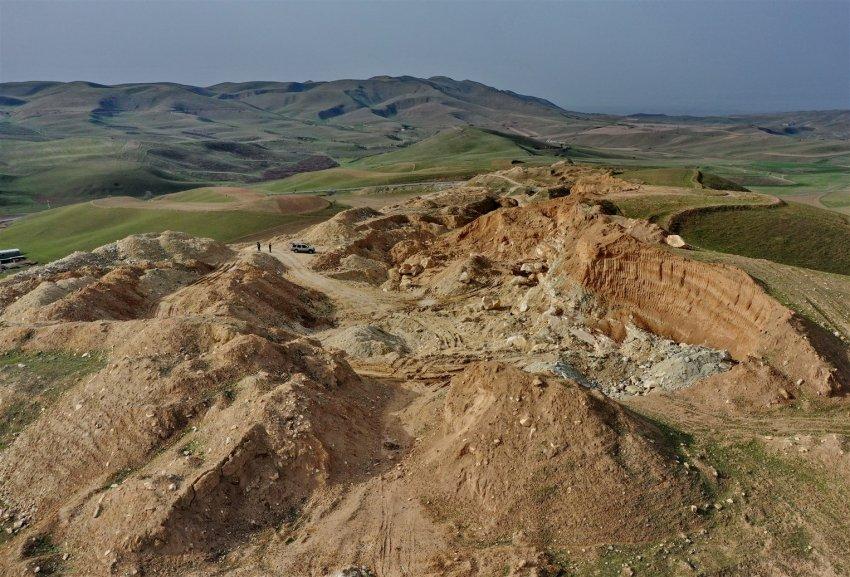 Варварская добыча стройматериала,  приобрела в Кыргызстане угрожающие масштабы