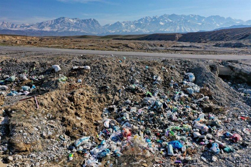 Мусорные горы Кыргызстана. ФОТОРЕПОРТАЖ